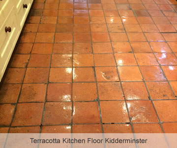 After Terracotta Kitchen Floor Kidderminster