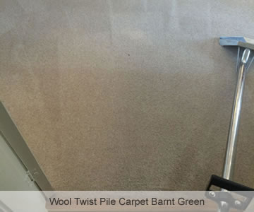 After Wool Twist Pile Carpet Barnt Green