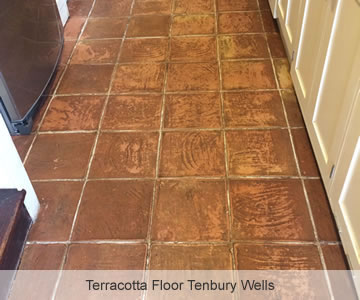 Before Terracotta Floor Tenbury Wells