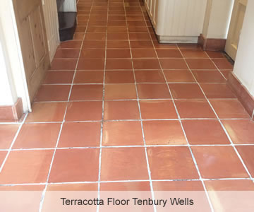 After Terracotta Floor Tenbury Wells