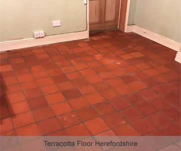 After Terracotta Floor Herefordshire